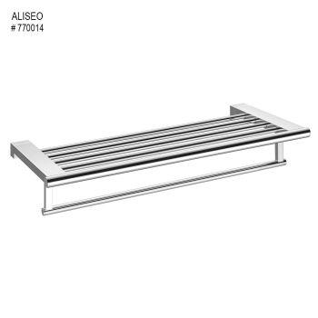 Aliseo Architecto Towel Rack With Rail