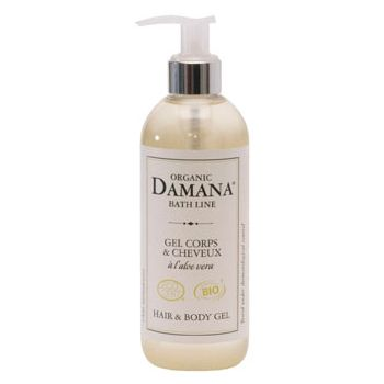 Damana Organic hair and body gél 300 ml