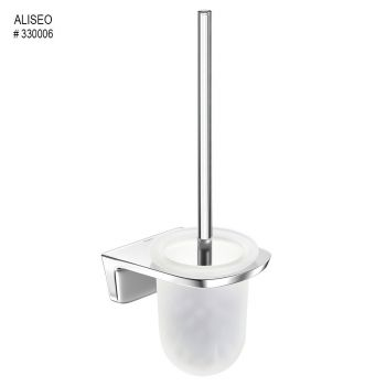 Aliseo Abaco Toilet Brush Holder